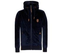 Male Zipped Jacket Ivic Mack II blau