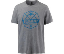 'dome' T-Shirt Herren grau