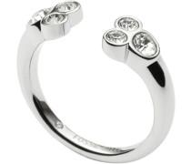 Ring mit Glassteinen »Vintage Glitz Jf02324040« silber