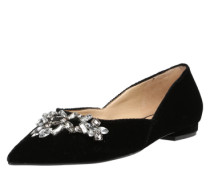 Ballerinas 'Shoein' schwarz