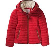 Winterjacke für Mädchen rot