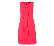 Leichtes Chiffon-Kleid pink