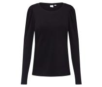 Shirt 'LS Cozy Puff' schwarz