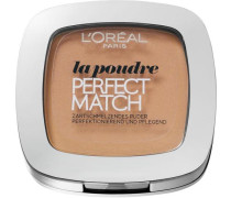 'Perfect Match Compact Puder' Puder beige / nude / gold