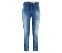 Loosefit Hose blue denim