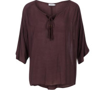 3/4-Arm-Bluse lila