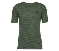T-Shirt grün / dunkelgrün