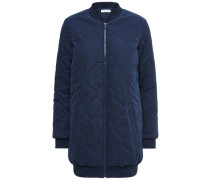 Gefütterter Mantel blau
