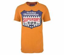 T-Shirt 'reworked Classic Tee' curry / mischfarben