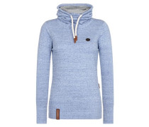 Pullover 'Knit' himmelblau
