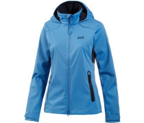 Softshelljacke 'Cusco Valley' himmelblau