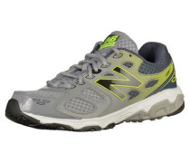 Sneaker grau / grün / schwarz / weiß