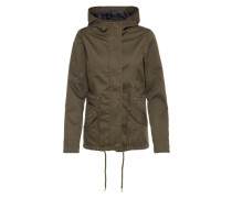 Parka 'Basic Cotton' oliv