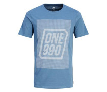T-Shirt royalblau