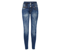 'Raya' Boyfriend Jeans Damen blue denim