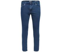 Skinny Fit Jeans Warp Camp Medium Blue blau