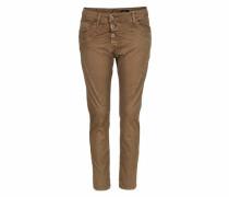 Jeans Boyfriend-Hose 'p78A' braun