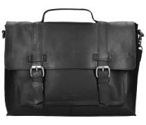 Belt Aktentasche Leder 35 cm Laptopfach schwarz