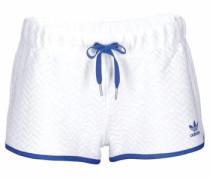 Shorts »Slim Short« royalblau / weiß