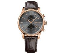 Chronograph »Jet 1513281« braun / rosegold