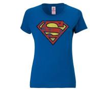 "T-Shirt ""Superman"" blau"