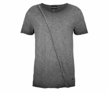 T-Shirt »Slub Yarn« grau