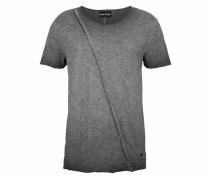 T-Shirt 'Slub Yarn' graphit