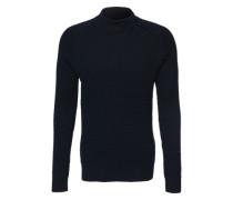 Strickpullover 'men's pullover' dunkelblau