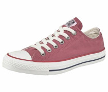 Sneaker 'Chuck Taylor All Star Ox' rot / pastellrot / weiß