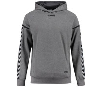 Authentic Charge Kapuzenpullover grau