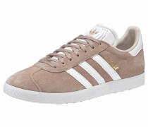 Sneaker 'Gazelle' sand / weiß