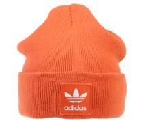 Mütze mit Trefoil-Logo orangerot