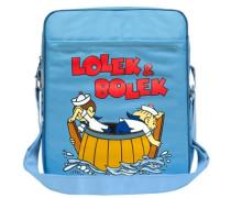 Tasche 'Lolek und Bolek - Auf Hochsee' hellblau