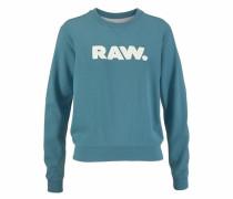 Sweatshirt 'Core' himmelblau / weiß