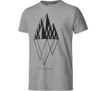 Zimtstern TSM Gem Printshirt Herren grau