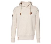 Sweatshirt Lennox VII beige / weiß