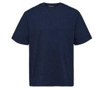Oversize T-Shirt dunkelblau
