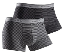 Boxer (2 Stück) grau / schwarz