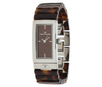 Armbanduhr 5408403 braunmeliert / silber