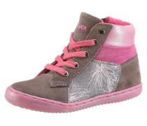 Schnürschuh grau / pink