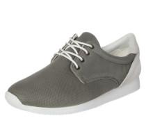 Sneaker 'Kasai' in Low-Rise oliv / weiß
