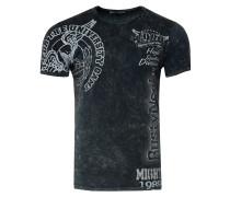 T-Shirt mit coolem Print