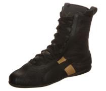 Eskiva Hi EVO Sneaker gold / schwarz