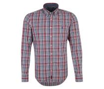 Langarmhemd blau / rot
