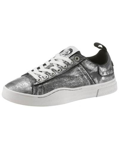 Sneaker 'Clever' graphit / weiß