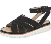 Sandaletten 'Darline' schwarz
