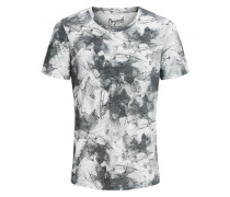 T-Shirt Print weiß