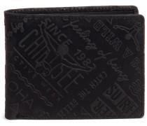 'Wild Ride Quer' Geldbörse 125 cm schwarz