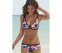 Bügel-Bikini pastelllila / rosa / schwarz