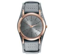 Armbanduhr grau